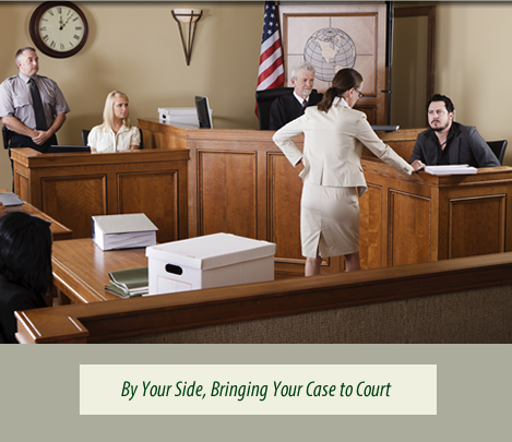 By Your Side, Bringing Your Case to Court