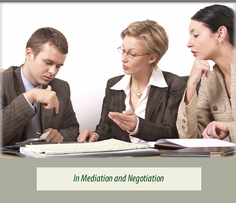 In Mediation and Negotiation