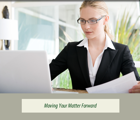 Moving Your Matter Forward